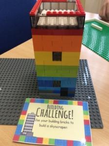 Lego Challenge tower