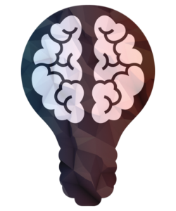 image of a brain inside a lightbulb